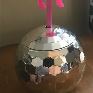 Victoria's Secret pink disco ball cup